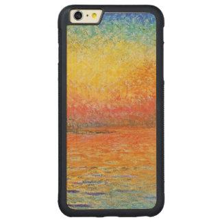 Claude Monet Sunset In Venice Impressionist Art Carved® Maple iPhone 6 Plus Bumper Case