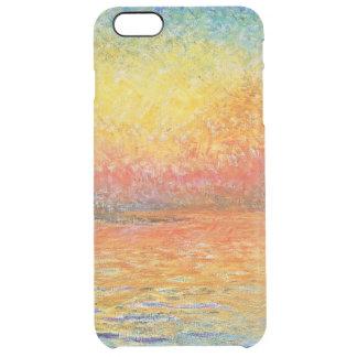 Claude Monet Sunset In Venice Impressionist Art Clear iPhone 6 Plus Case