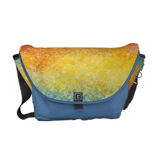 Claude Monet Sunset In Venice Impressionist Art Courier Bag