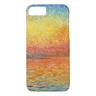 Claude Monet Sunset In Venice Impressionist Art iPhone 7 Case