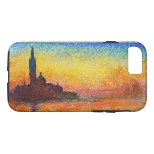 Claude Monet Sunset In Venice Impressionist Art iPhone 8/7 Case