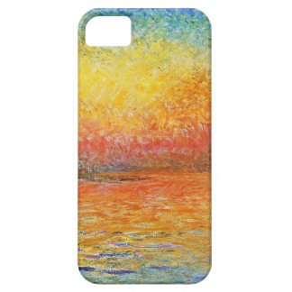 Claude Monet Sunset In Venice Impressionist Art iPhone SE/5/5s Case