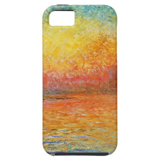 Claude Monet Sunset In Venice Impressionist Art iPhone SE/5/5s Case