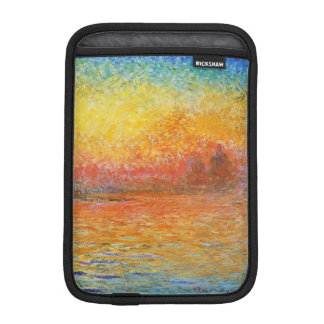 Claude Monet Sunset In Venice Impressionist Art Sleeve For iPad Mini