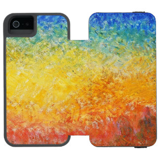 Claude Monet Sunset In Venice Impressionist Art Wallet Case For iPhone SE/5/5s