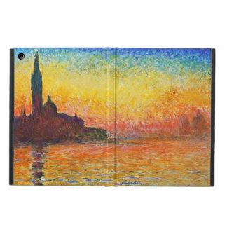 Claude Monet Sunset In Venice Case For iPad Air