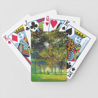 Claude Monet: The Allee Du Champ De Foire Bicycle Playing Cards