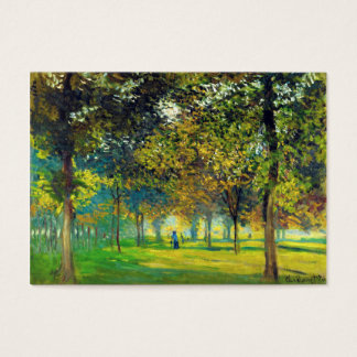 Claude Monet: The Allee Du Champ De Foire Business Card