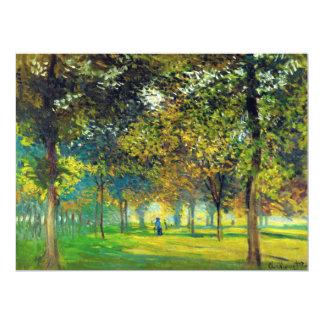 Claude Monet: The Allee Du Champ De Foire Card