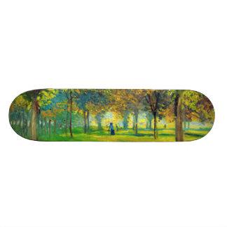 Claude Monet: The Allee Du Champ De Foire Skateboard Deck