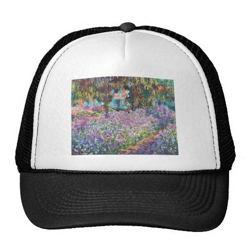 Claude Monet - The Artist's Garden at Givern Trucker Hat