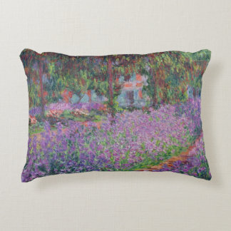 Claude Monet | The Artist's Garden at Giverny Accent Pillow