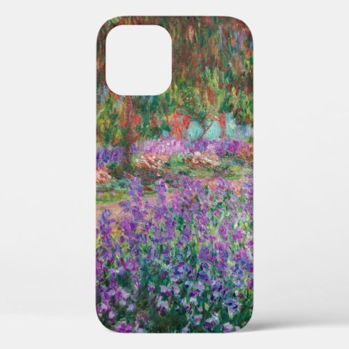 Claude Monet - The Artist's Garden at Giverny Phone Case