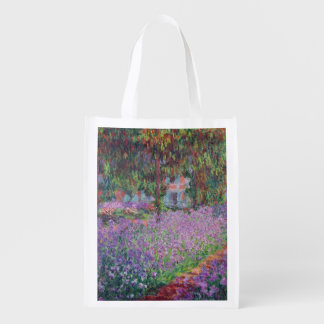 Claude Monet | The Artist's Garden at Giverny Grocery Bag
