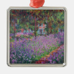Claude Monet | The Artist's Garden at Giverny Metal Ornament