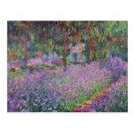 Claude Monet | The Artist's Garden at Giverny Postcard