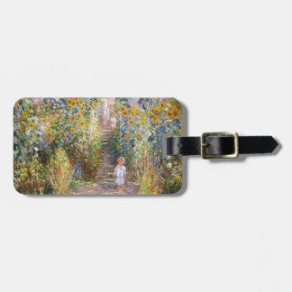 Claude Monet The Artist's Garden at Vétheuil, 1880 Bag Tag