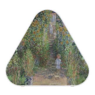 Claude Monet | The Artist's Garden at Vetheuil Bluetooth Speaker