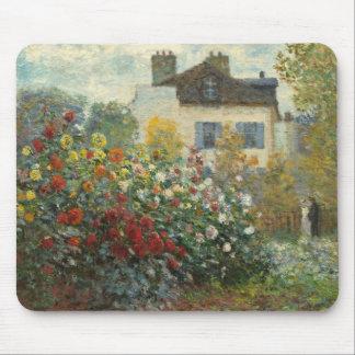 Claude Monet   The Artist's Garden in Argenteuil Mouse Pad