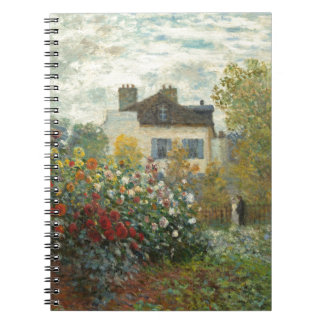 Claude Monet | The Artist's Garden in Argenteuil Notebook