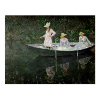Claude Monet | The Boat at Giverny, c.1887 Postcard