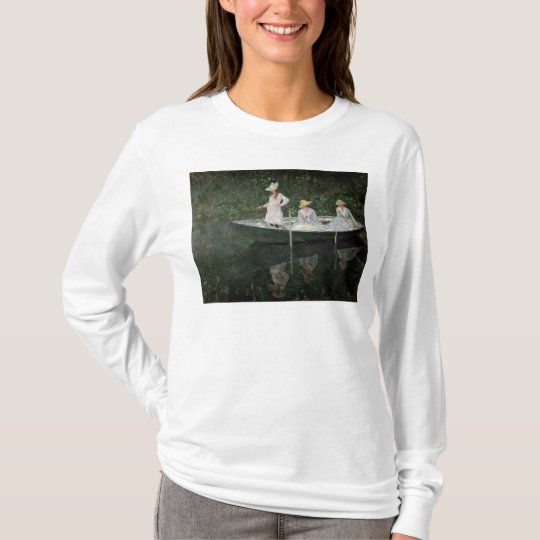 Claude Monet | The Boat at Giverny, c.1887 T-Shirt