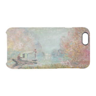 Claude Monet | The Boat Studio on the Seine, 1875 Clear iPhone 6/6S Case
