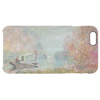 Claude Monet | The Boat Studio on the Seine, 1875 Clear iPhone 6 Plus Case