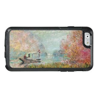 Claude Monet | The Boat Studio on the Seine, 1875 OtterBox iPhone 6/6s Case