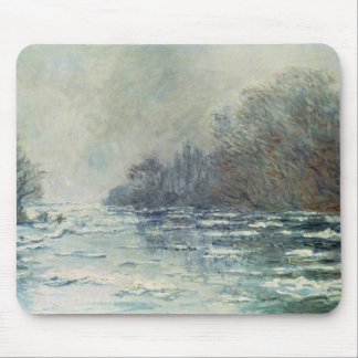 Claude Monet | The Break up at Vetheuil, c.1883 Mouse Pad