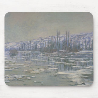 Claude Monet - The Break-up of the Ice Mouse Pad