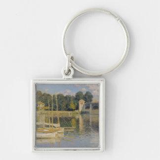 Claude Monet | The Bridge at Argenteuil, 1874 Keychain