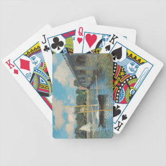 Claude Monet - The Bridge at Argenteuil Bicycle Playing Cards
