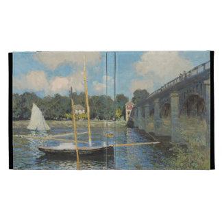 Claude Monet the Bridge at Argenteuil iPad Folio Cover