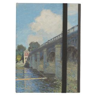 Claude Monet the Bridge at Argenteuil iPad Case