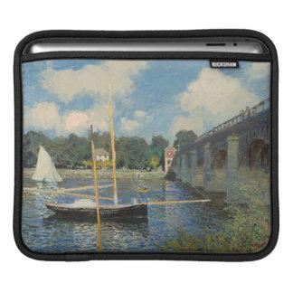 Claude Monet | The Bridge at Argenteuil iPad Sleeves