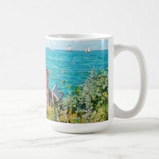 Claude Monet The Cabin At Saint-Adresse Fine Art Coffee Mug