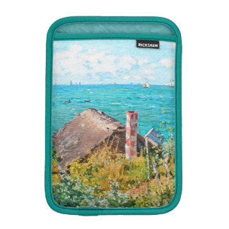 Claude Monet The Cabin At Saint-Adresse Fine Art Sleeve For iPad Mini