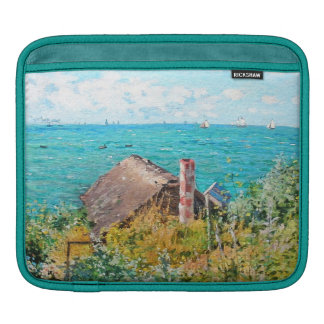 Claude Monet The Cabin At Saint-Adresse Fine Art Sleeve For iPads