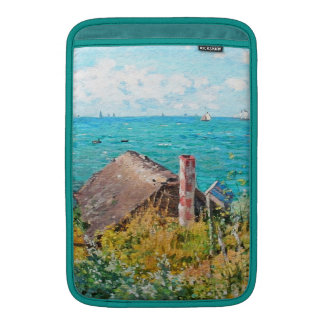 Claude Monet The Cabin At Saint-Adresse Fine Art Sleeve For MacBook Air