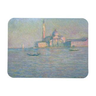 Claude Monet - The Church of San Giorgio Maggiore, Rectangular Photo Magnet