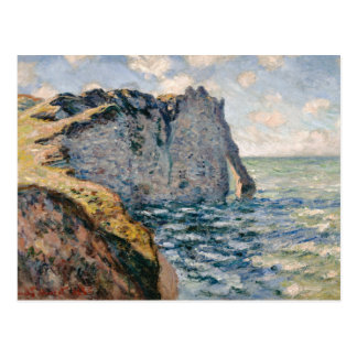 Claude Monet - The Cliff of Aval, Etrétat Postcard