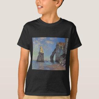 Claude Monet - The Cliffs at Etretat 1885 T-Shirt