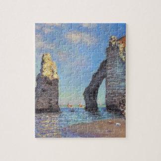 Claude Monet // The Cliffs at Etretat Jigsaw Puzzle