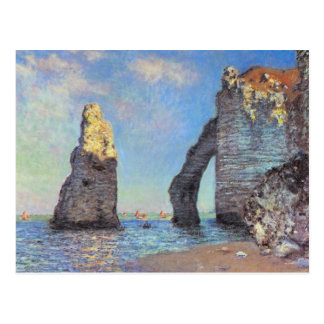 Claude Monet // The Cliffs at Etretat Postcard