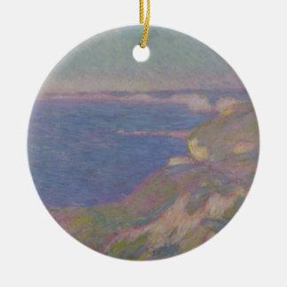 Claude Monet | The Cliffs Near Dieppe Ceramic Ornament