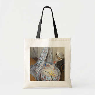 Claude Monet | The Cradle, Camille with Son Jean Tote Bag