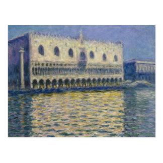 Claude Monet - The Doges Palace Postcard