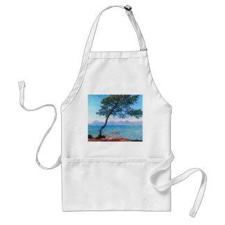 Claude Monet: The Esterel Mountains Adult Apron