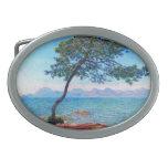 Claude Monet: The Esterel Mountains Oval Belt Buckle